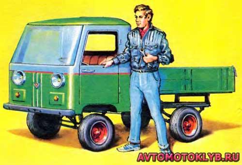 Кузов самодельного авто