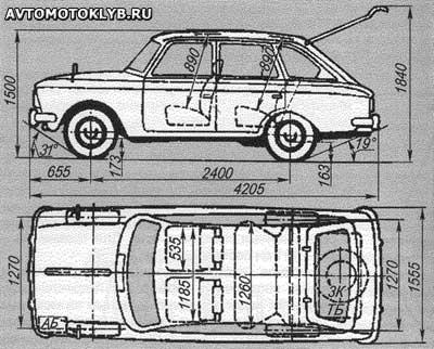 «ИЖ-Комби» — первый советский хэтчбек производства Ижевского машиностроительного завода на базе «408-го»