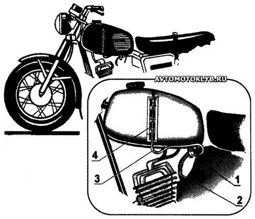 Как сделать самодельный указатель уровня топлива для мотоцикла