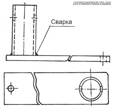 Как сделать хомут на трубу фото 356