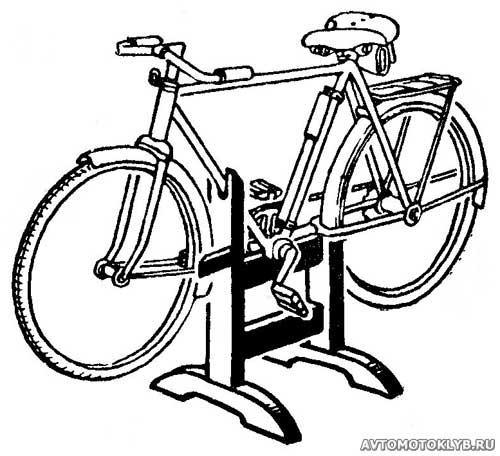 Как сделать подставку для велосипедов