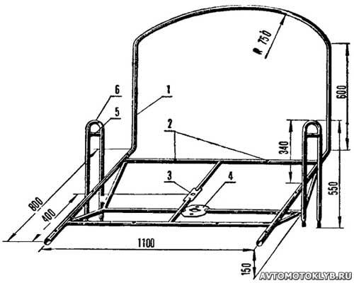 Как сделать телегу на велик своими руками схема