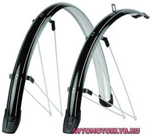 Самодельные крылья-щитки велосипеда. Велосипедные крылья своими руками